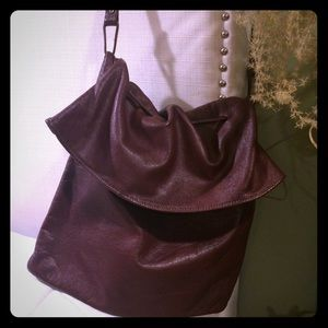 Amazing✨Vintage all Genuine Leather Hobo Bag
